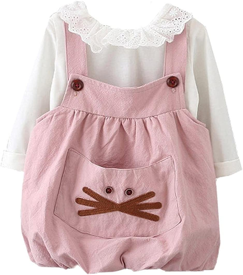 LNGRY Old Autumn Baby Kids Toddler Girls Cute Bandage Suit Mini Dress Clothes