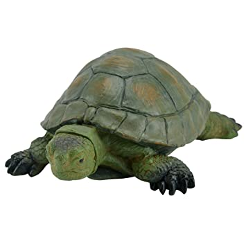 Deko Schildkröte wetterbeständig Dekotier Gartenfigur Gartendeko Statue Deko NEU