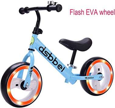 Bicicletas sin pedales Balance Bike Kids Toddler Cool Light Wheel ...