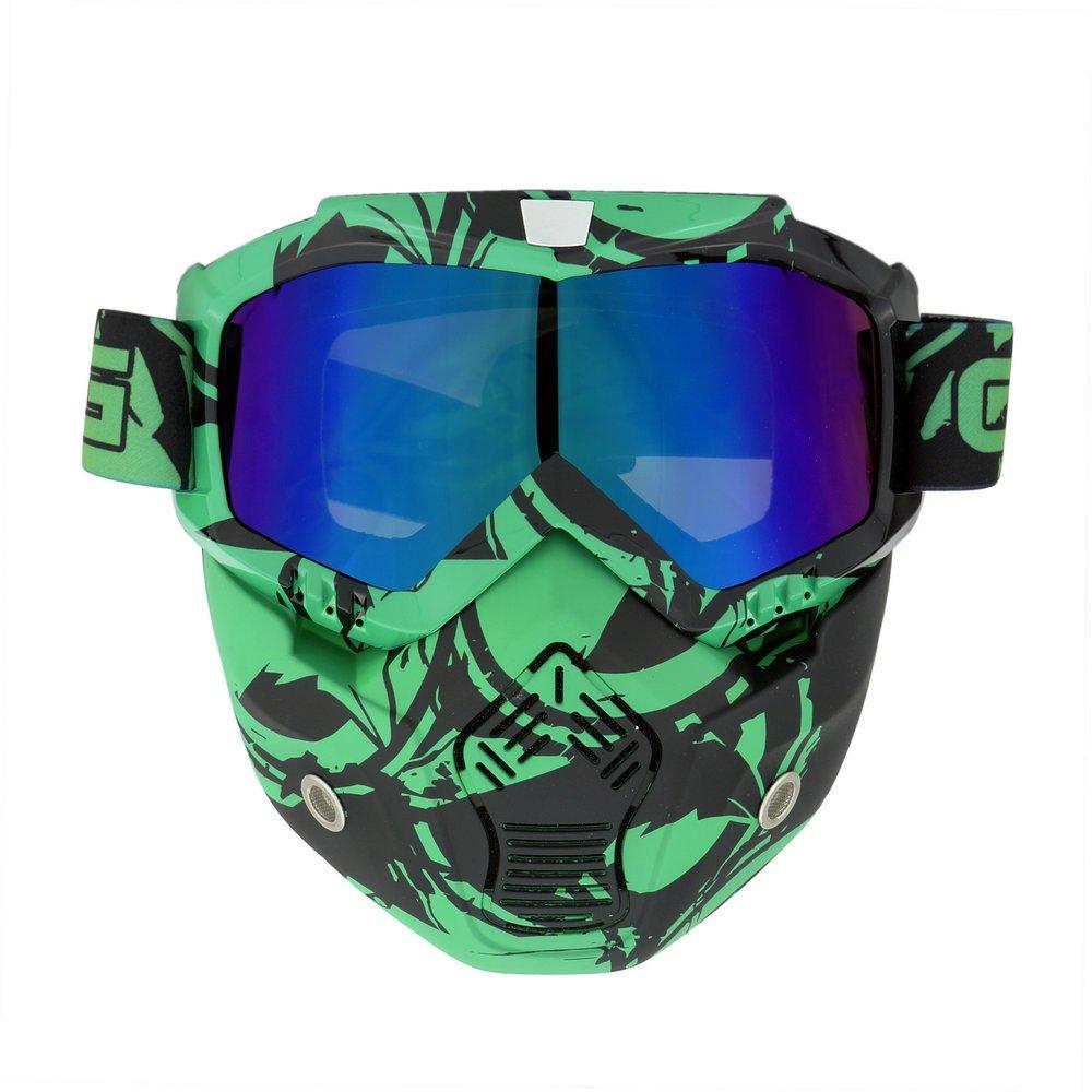 Heinmo, protección completa para Airsoft con gafas tácticas para motocross Heinmo Plus