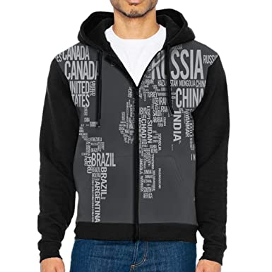 World map typography letters front print zipper hoodies pockets world map typography letters front print zipper hoodies pockets hoodie hooded sweatshirt jacket for mens gumiabroncs Gallery