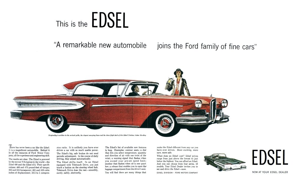 Amazon.com: Ford Cars: Edsel, 1957. /N\'This Is The Edsel ...