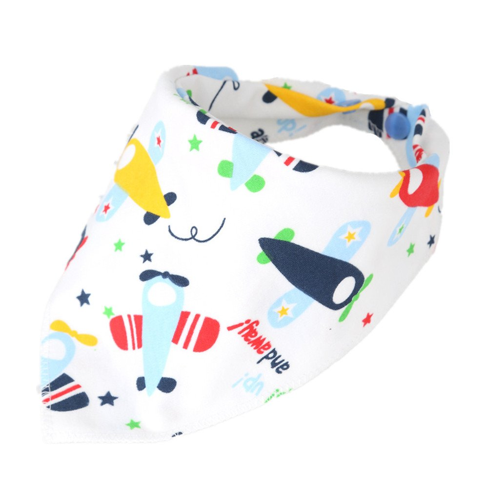 Newborn Cotton Bib Funky Baby Bandana Drool Bibs Infant Cartoon Saliva Towel Toddler Neckerchief Scarf LifenewBaby