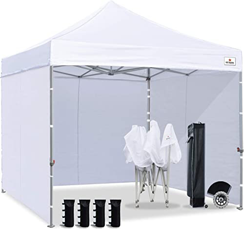 Keymaya 10×10 Ez Pop Up Canopy Tent Commercial Instant Shelter