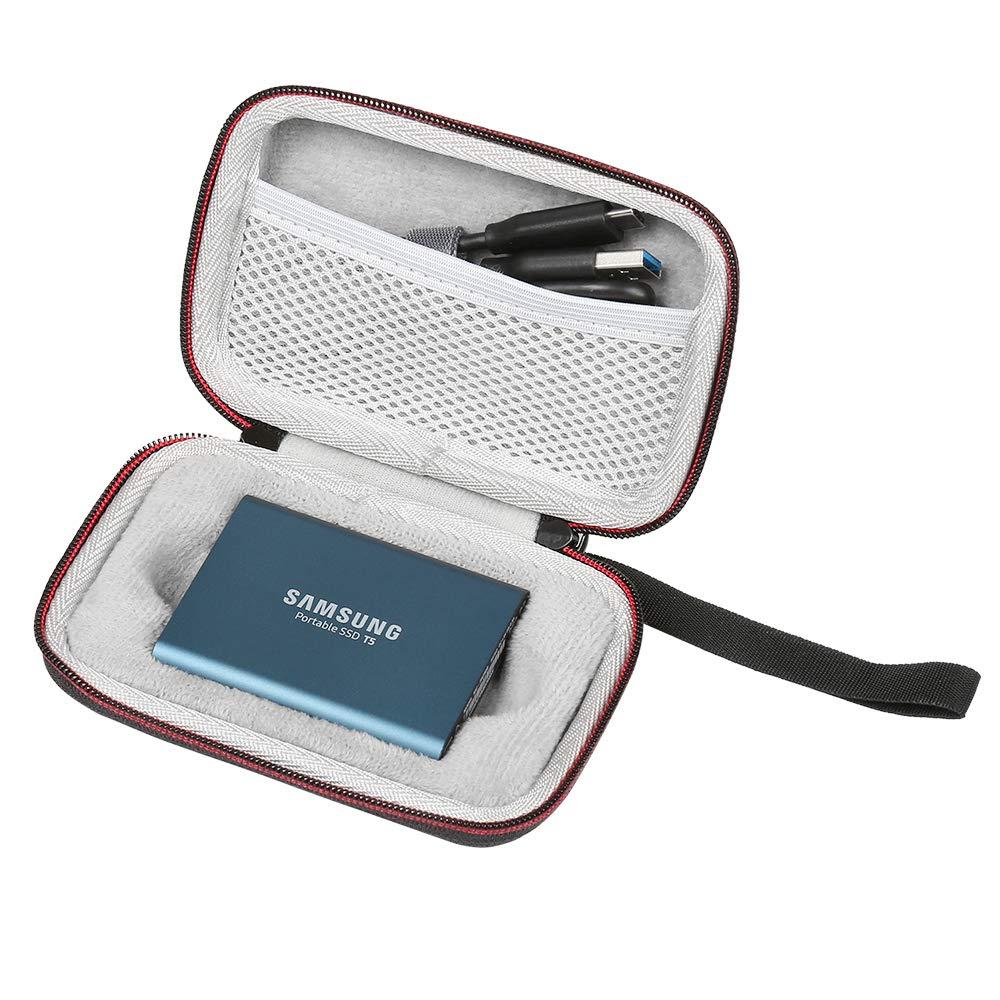 RETT® - portátil funda Carcasa rígida de EVA para Samsung T5/T3/T1 ...