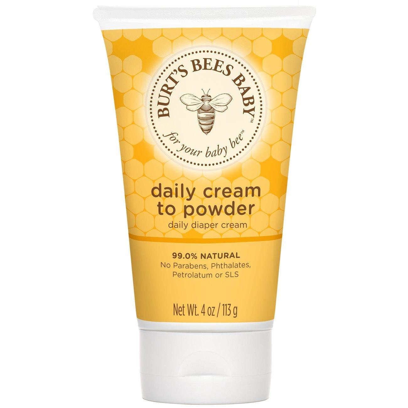 Burt's Bees Baby Bee Cream-To-Powder, 4 Ounces Burt's Bees -3595