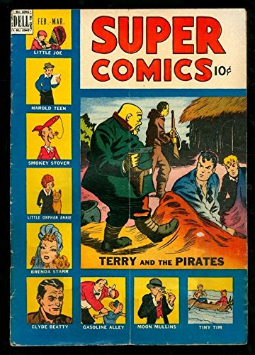 SUPER COMICS 121 4.5 VG 1948 DELL TERRY PIRATES HOLMAN SMOKEY STOVER (121 Terry)