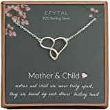 Amazon.com: Sterling Silver Mother and Child Pendant