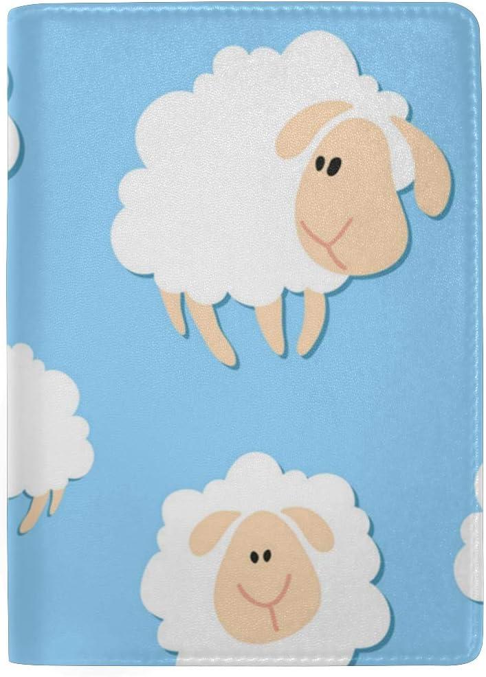 Toddler Sheep Costume Multi-purpose Travel Passport Set With Storage Bag Leather Passport Holder Passport Holder With Passport Holder Travel Wallet