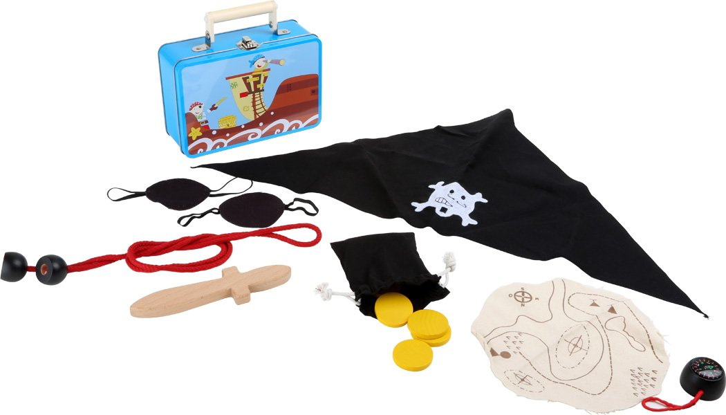 Legler Small Foot Company 3919 - Children's Pirate Set with Case