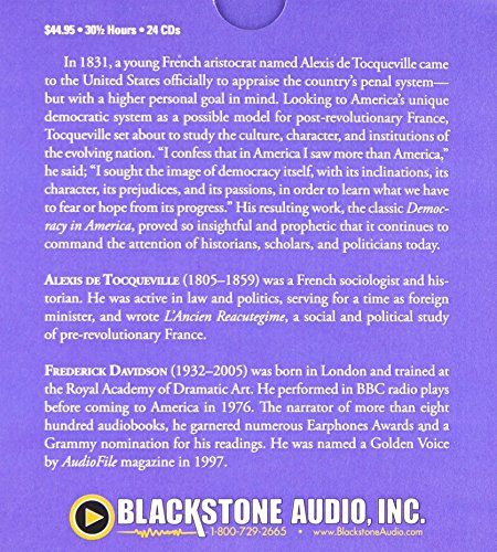 Democracy in America by Blackstone Audio (Image #1)