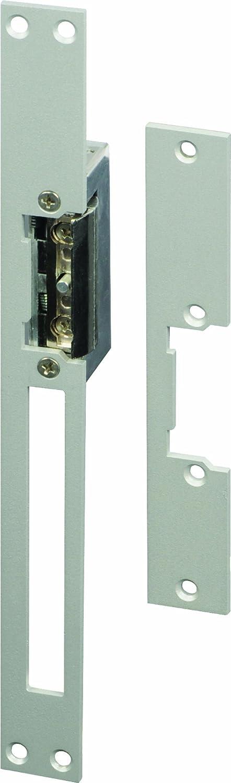 SCS SEN4131181 - Cerradura eléctrica para portillo (corta y larga, de encastrar, reversible, acero inoxidable)