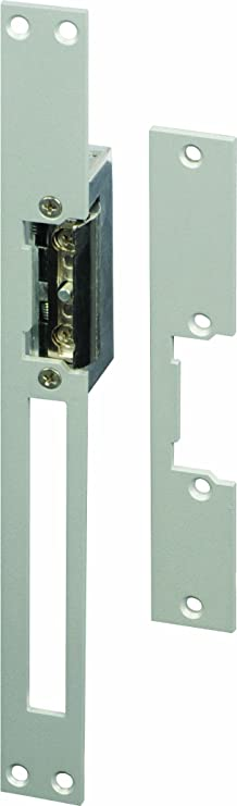 SCS SEN4131181 - Cerradura eléctrica para portillo (corta y larga, de encastrar, reversible, acero inoxidable): Amazon.es: Bricolaje y herramientas