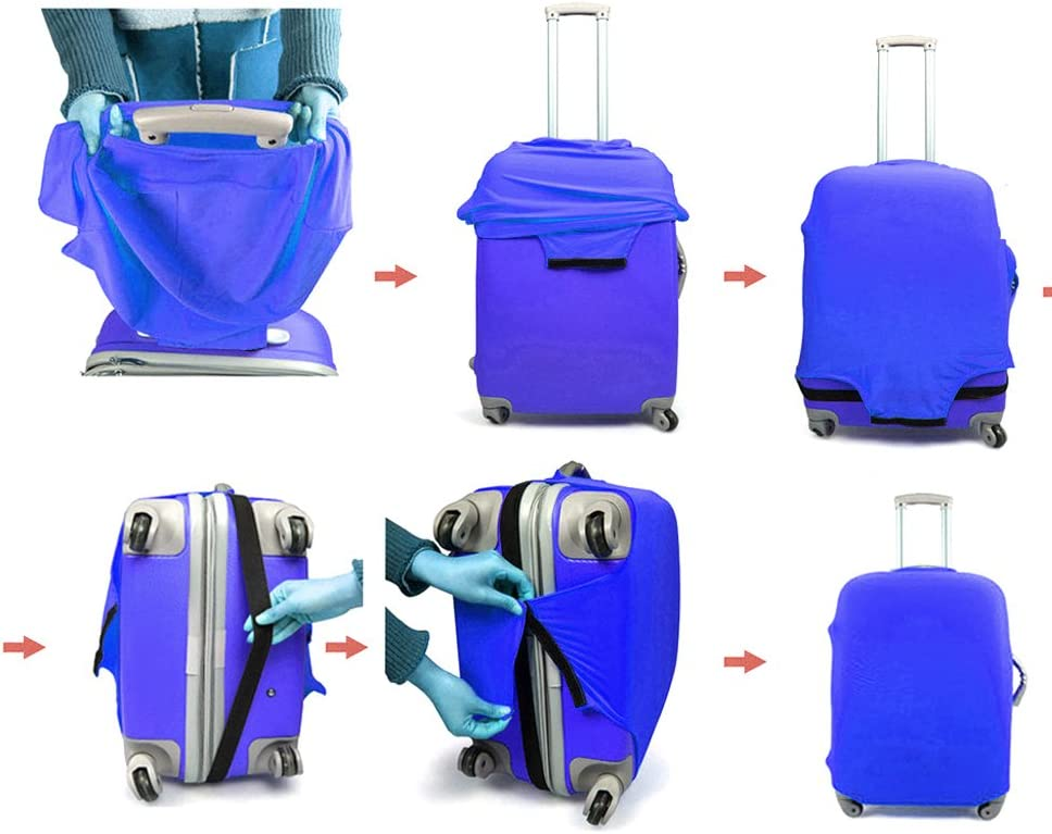 WINOMO Housse de Protection en Plastique pour /étui pour Protection Contre la poussi/ère de Valise portacalco pour 18-20 Pouces
