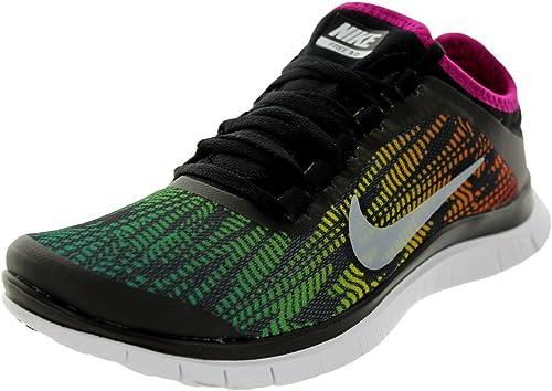 Ánimo Bourgeon labio  Amazon.com   Nike Women's Free 3.0 V5 PNT Black/White/Brght MGNT ...