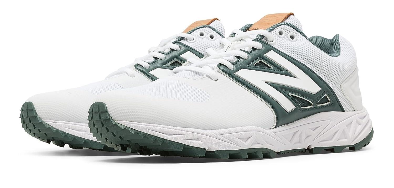 (ニューバランス) New Balance 靴シューズ メンズ野球 Turf 3000v3 White with Green ホワイト グリーン US 8.5 (26.5cm) B01J5BQEZ4