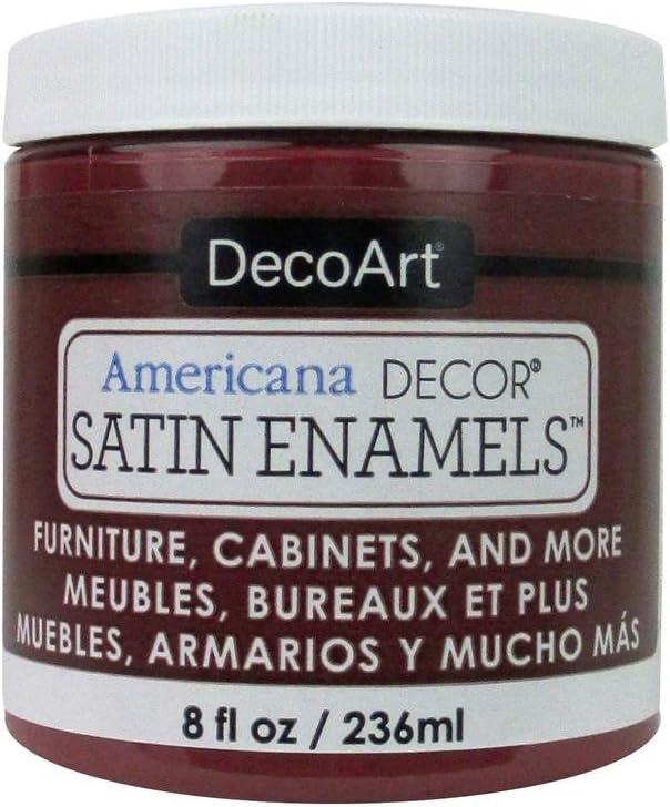 DecoArt Décor Americana Decor Satin Enamels 8oz DeepRuby