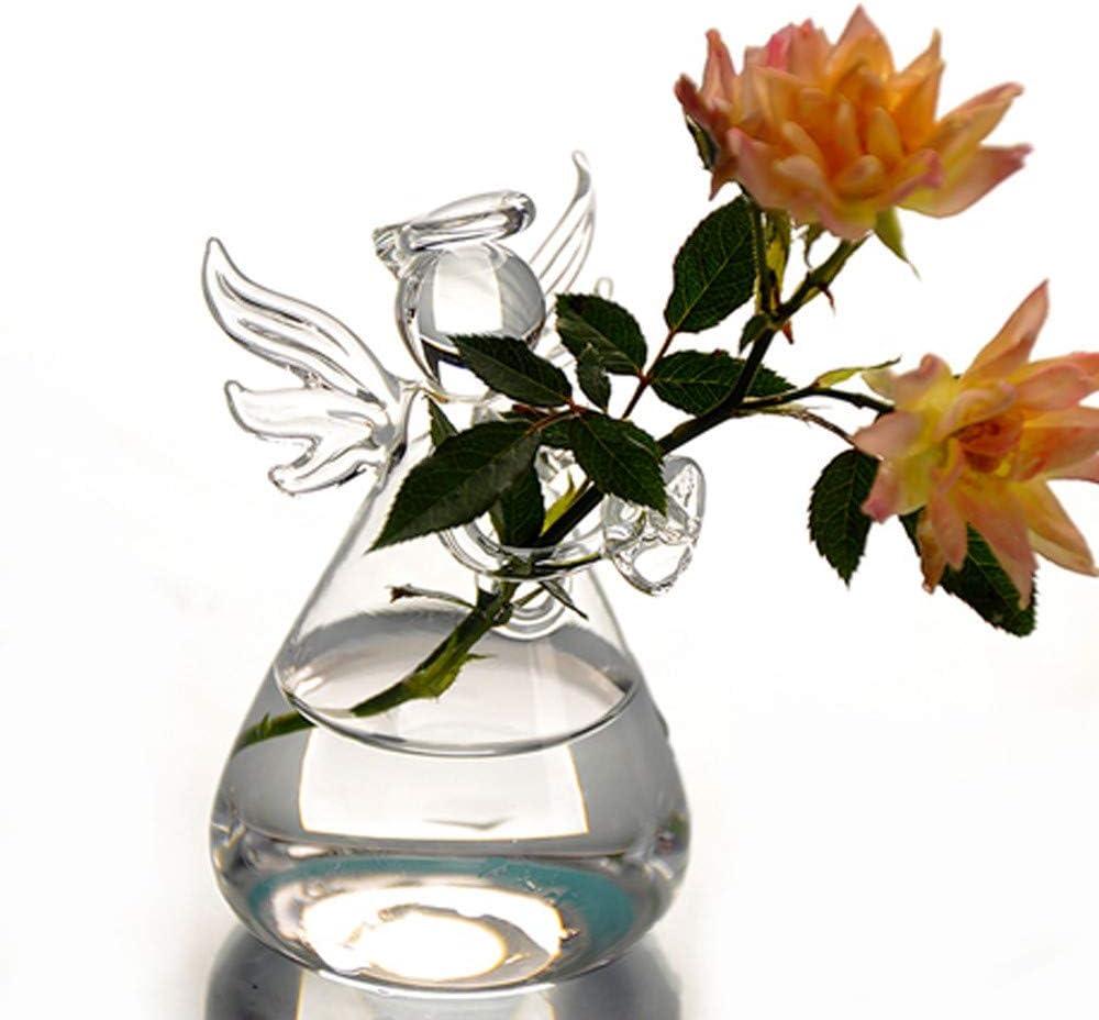 Pgojuni Creative Hanging Glass Ball Vase Flower Plant Pot Hydroponic Container Vase Terrarium Container Party Wedding Decor E