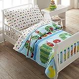 Wildkin Toddler Sheet Set, 100% Cotton Toddler