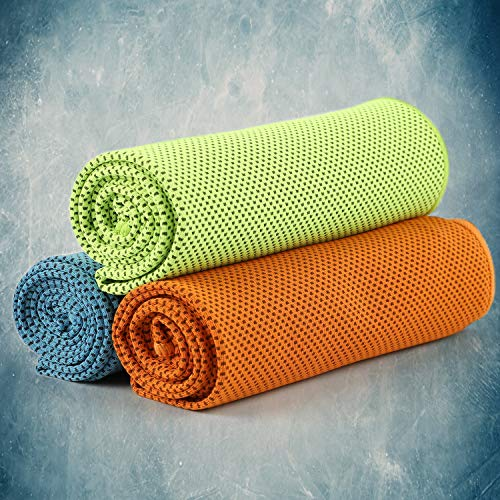 CyvenSmart Cooling Towel (3 Pack),Cold Towel Make Your Cool Neck 40
