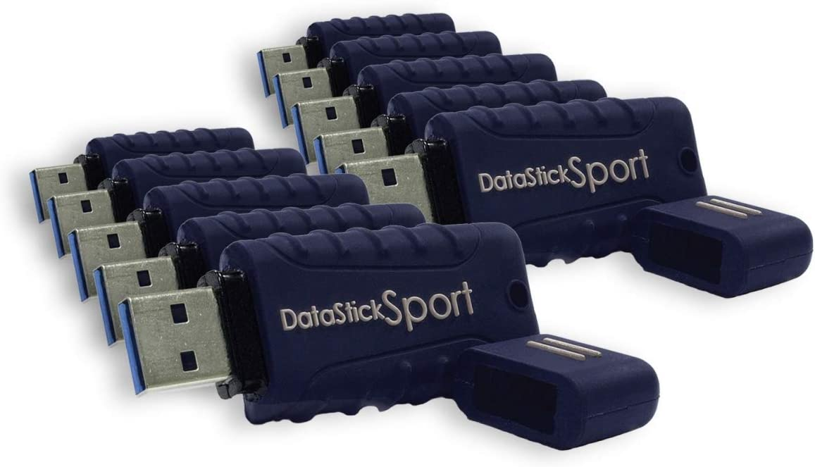 Blue S1-U3W2-32G-10 - Bulk 10-Pack Centon Electronics MP Essential 32 GB USB 3.0 Datastick Sport Flash Drives