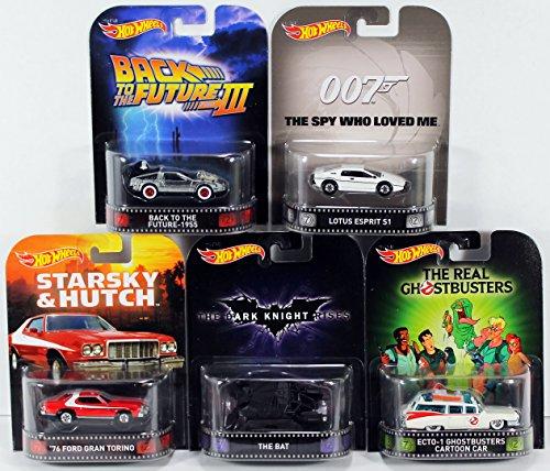 2015 Hot Wheels Retro Entertainment - K Case - Lot of 5