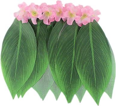 Falda hawaiana con hojas de palma, falda hawaiana, falda de hoja ...
