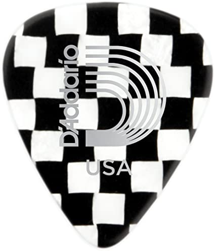 Extra Heavy Planet Waves Checkerboard Celluloid Guitar Picks 10 pack