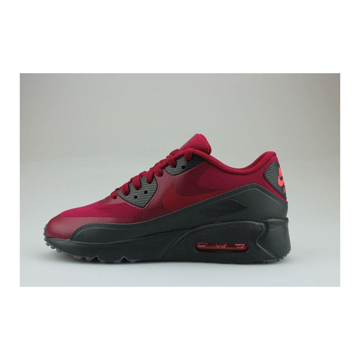 cheap for discount 9e797 a7d83 Nike Air Max 90 Ultra 2.0 Junior Rouge  Amazon.fr  Chaussures et Sacs