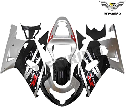 Unpainted Plastic Bodywork Fairing Fit for SUZUKI 2003 2004 GSXR 1000 Injection Mold ABS New Aftermarket Bodyframe Kit Set 03 04