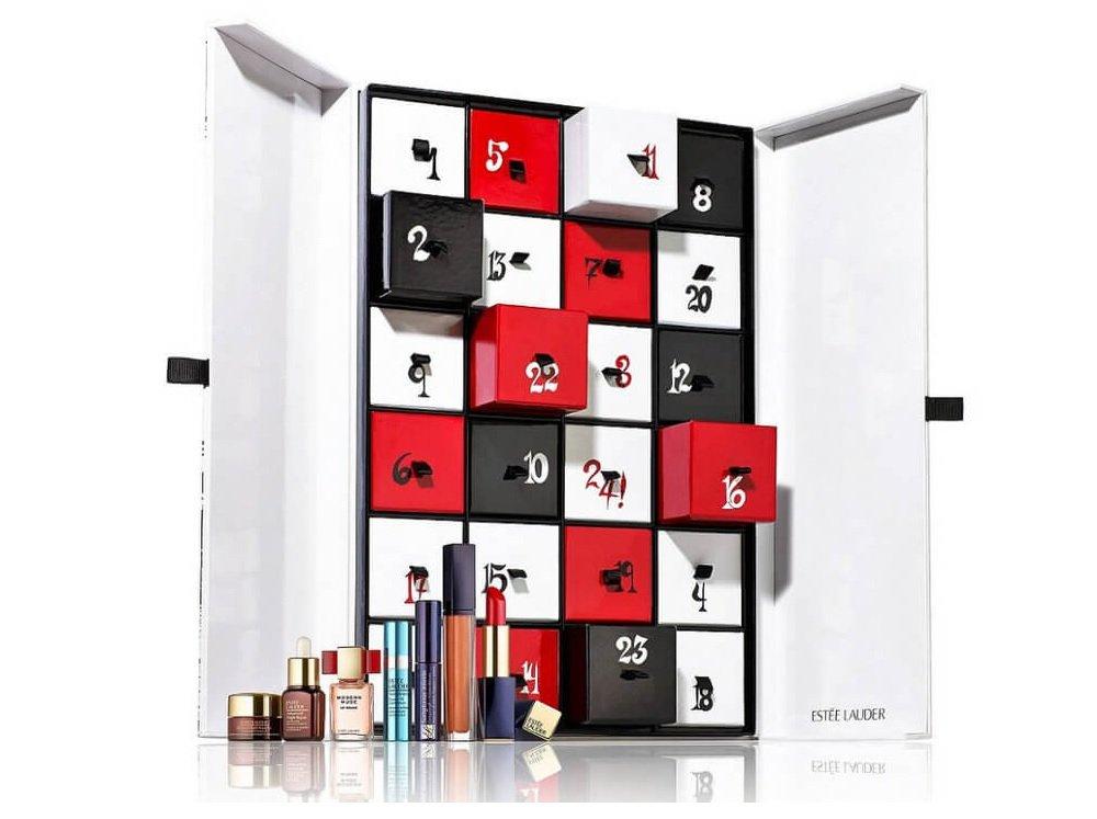 Estee Lauder Holiday Countdown Advent Calendar 24 Piece Luxury Collection Set by Estee Lauder (Image #1)
