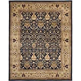 Cheap Safavieh Persian Legend Collection PL819C Handmade Traditional Blue and Gold Wool Area Rug (9′ x 12′)
