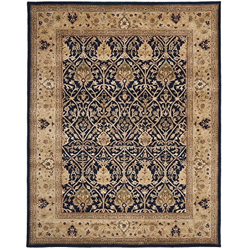 (Safavieh Persian Legend Collection PL819C Handmade Traditional Blue and Gold Wool Area Rug (9' x 12'))