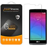 [2-Pack] Supershieldz for LG Leon LTE Tempered Glass Screen Protector, Anti-Scratch, Anti-Fingerprint, Bubble Free, Lifetime Replacement Warranty
