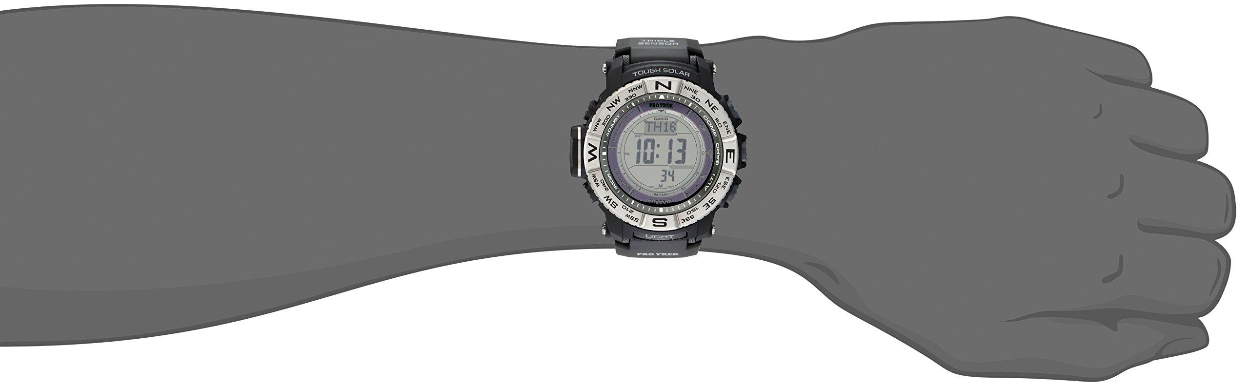 Casio Men's Pro Trek PRW-3500-1CR Solar Powered Atomic Resin Digital Watch by Casio (Image #3)