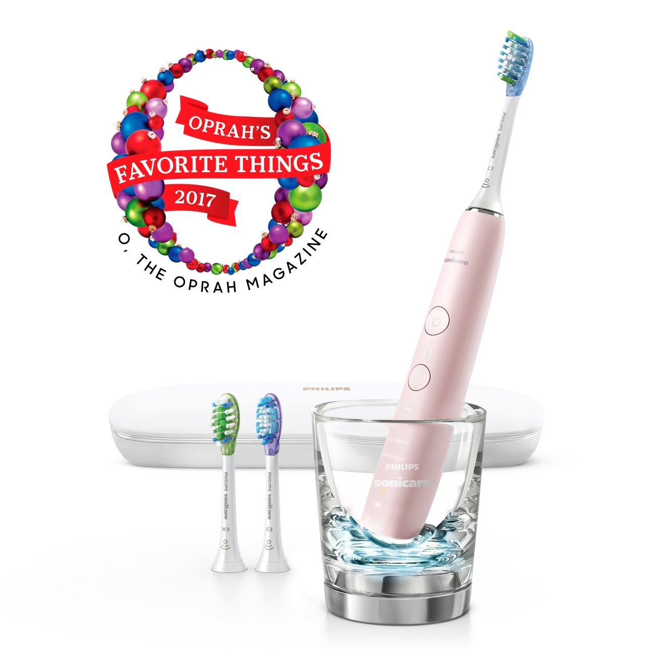 Philips Sonicare DiamondClean Smart Electric, Rechargeable toothbrush for Complete Oral Care – 9300 Series, Pink, HX9903/21 by Philips Sonicare (Image #3)