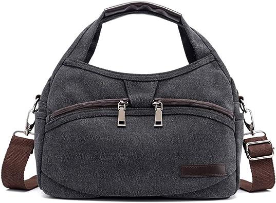 Women Canvas Handbag Shoulder Bags Large Tote Purse Travel Messenger Hobo Bag HZ