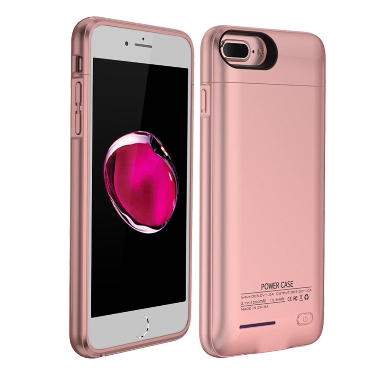 AICEDA iPhone 6 iPhone 6s 4.7 inch iPhone 7 iPhone 8 Battery Case, Battery Charger Battery Charger Case Cover, Battery Charger Battery Charging Case with Battery Charger Compatible with iPhone 6