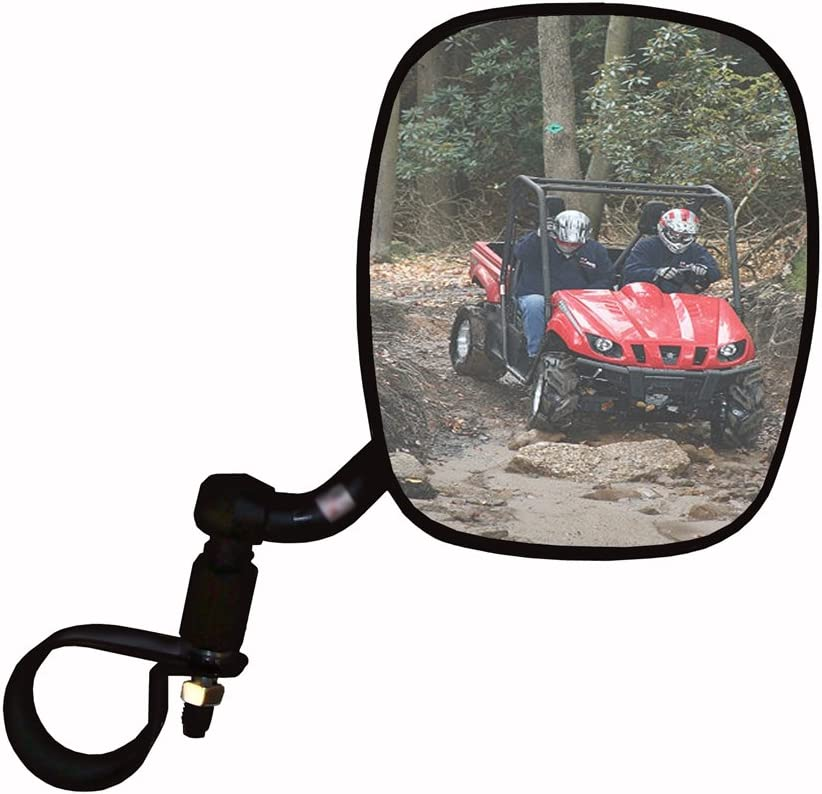 "Side View Mirror 8/"" X 3/"" CONVEX PIVOT BALL TUBE BUGGY 1.75/"" TUBE  Rear View"