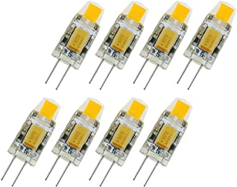 8 Unids Super Brillante G4 LED 12V Lámpara AC/DC 12v COB Led ...