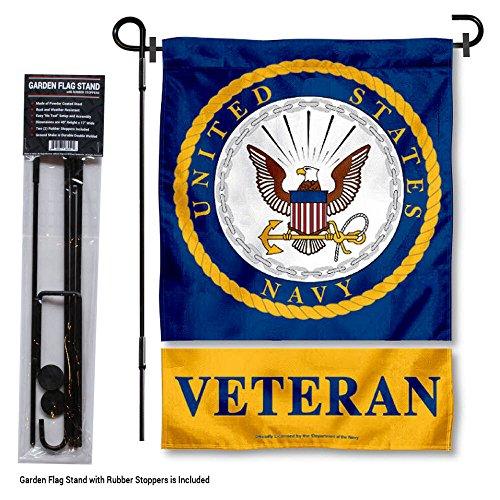 스탠드 홀더와 미국 해군 Midshipmen 베테랑 정원 플래그/US Na..