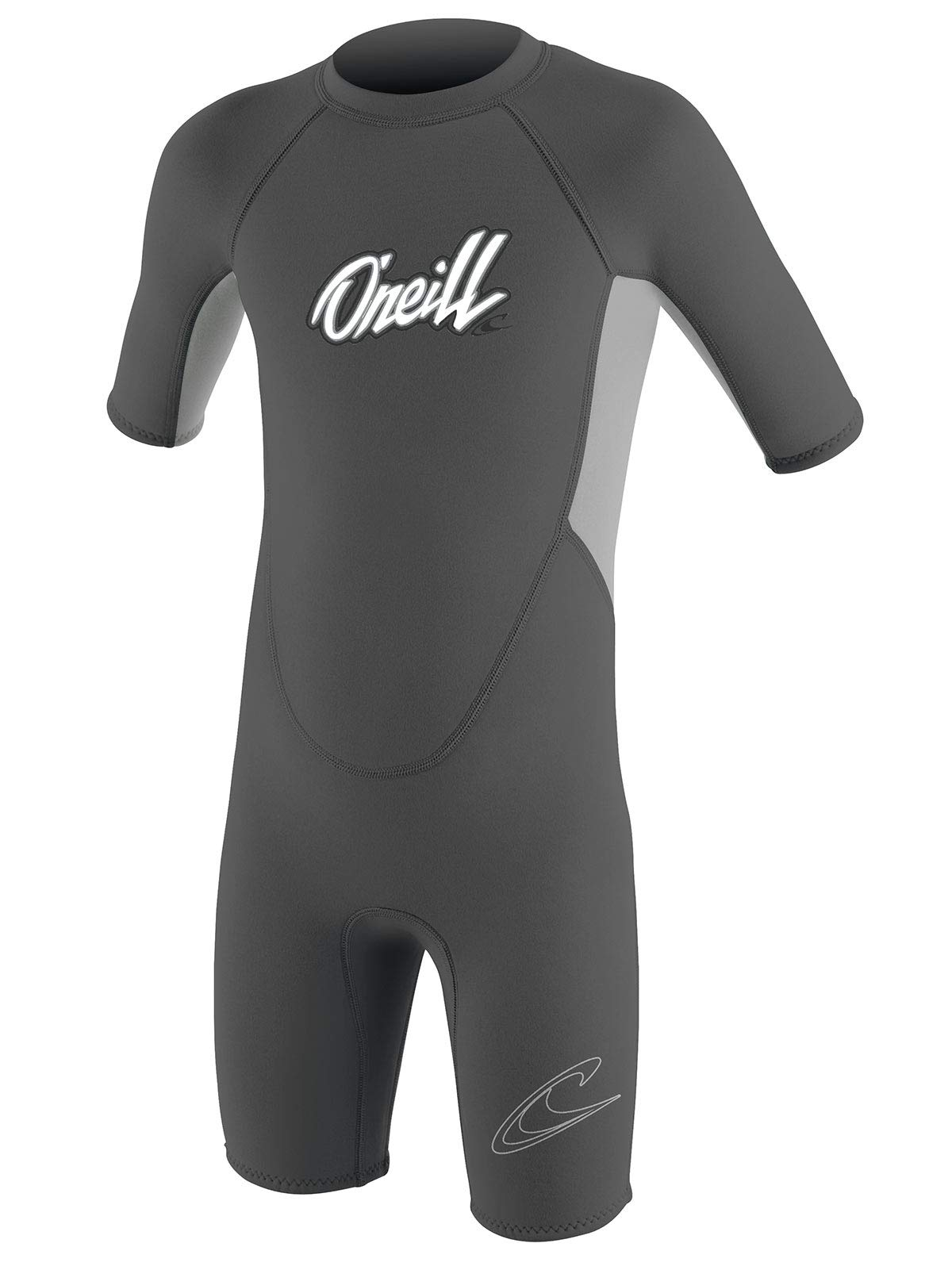 O'Neill Toddler & Little Kids Neoprene Shorty Wetsuit for Swim Classes (Graphite/Cool Grey (5127B), 6) by O'Neill Wetsuits