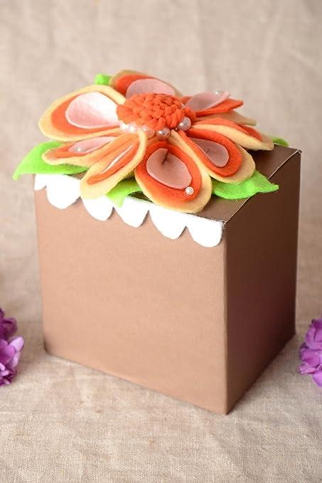 Amazon Com Handmade Gift Box Cardboard Gift Bow Gift Wrapping Ideas