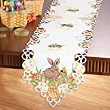 Easter Bunny And Eggs Table Linens, Runner