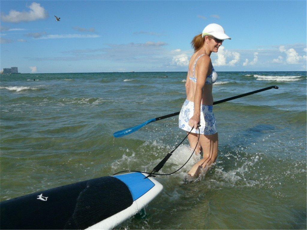 Tabla De Surf Correa De 6 \ resaca Correa De Sujeción De Pie Correa Tabla De Paddle - Negro: Amazon.es: Deportes y aire libre