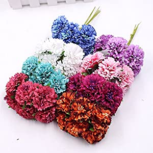 Artificial Flower Roses Wedding Decoration Home Decoration Festivals Party Decorations Silk Daisy Flower 30PCS 4CM 113