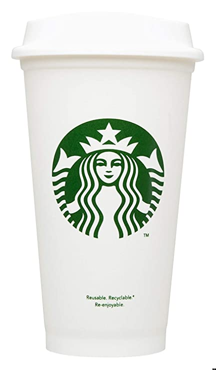 1504b0bb5b1 Starbucks Reusable Travel Cup To Go Coffee Cup (Grande 16 Oz), Garden,  Lawn, Maintenance: Amazon.co.uk: Kitchen & Home