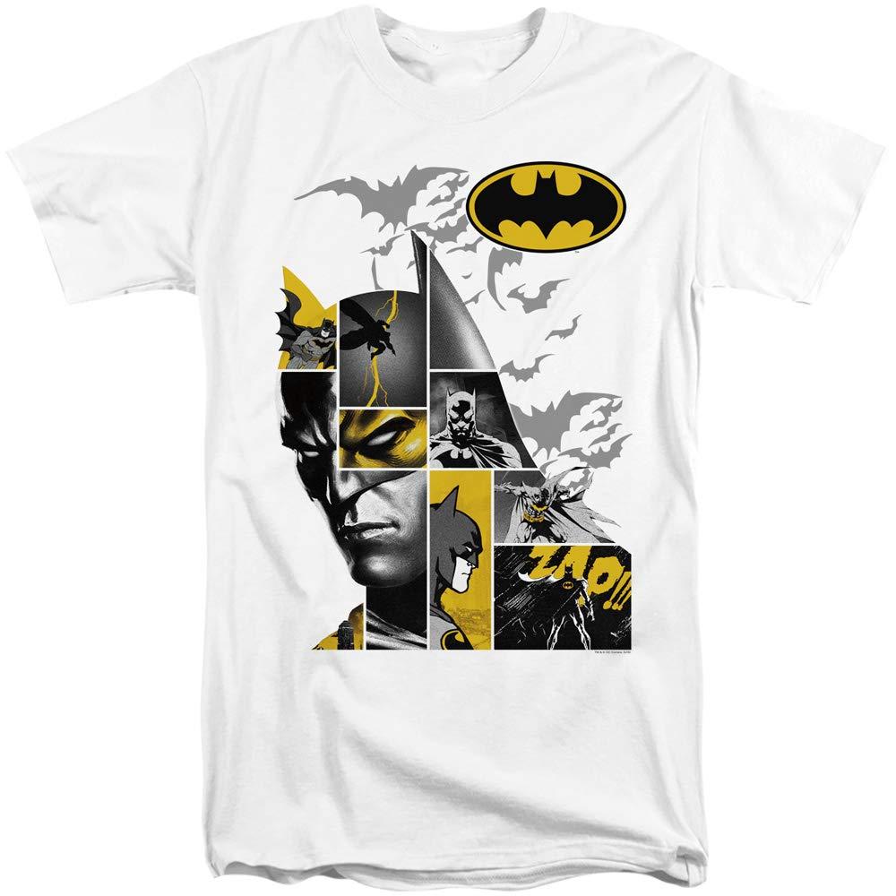 A E Designs Batman Tall Tshirt Collage Tee