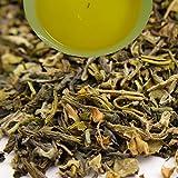 Indian Tulsi (Holy Basil) Organic Green Tea, 100gm (3.52oz) Herbal Loose Leaf Tea by Darjeeling Tea Boutique