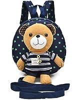 M2cbridge Toddler Anti-lost Backpack Small School Shoulder Bag Safety Harness